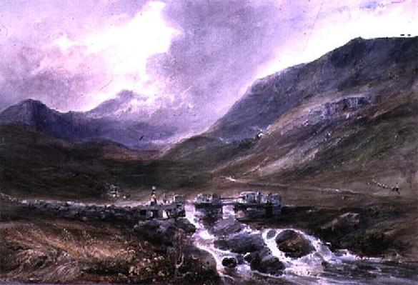 Welsh Mountainous Scene