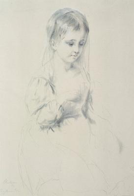 Portrait Study of a young girl