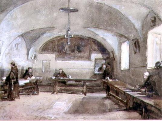 Interior of the Capuchin Convent at Albano