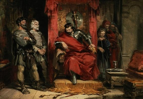 Macbeth instructing the Murderers employed to kill Banquo