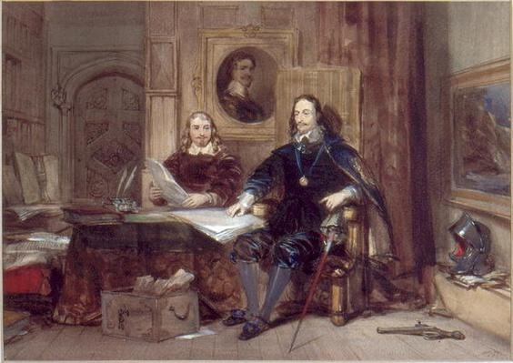 Charles I and his Secretary