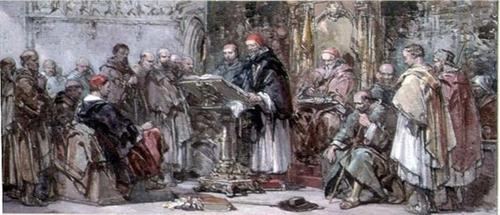 A Scene of Monastic Life: Preaching in the Church