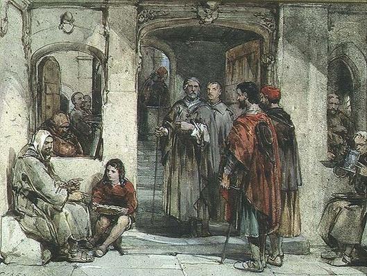 A Scene of Monastic Life, 1850