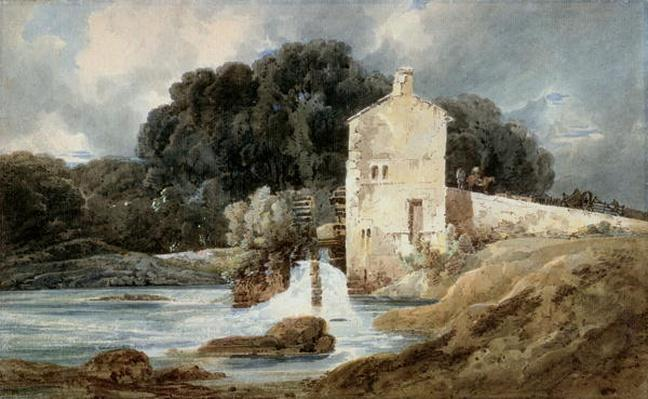The Abbey Mill, Knaresborough, c.1801