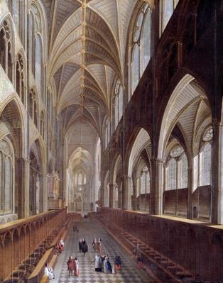 The Interior of Westminster Abbey, c.1714