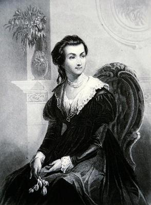 Abigail Smith Adams (1744-1818) (lithograph) by American School, (19th century)
