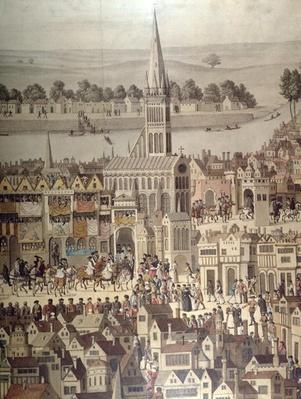 The Coronation Procession of King Edward VI