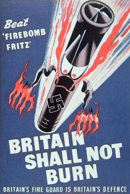 'Britain Shall not Burn', 1940