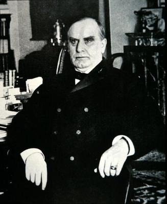 William Mckinley (1843-1901) (b/w photo) by American Photographer, (19th century)