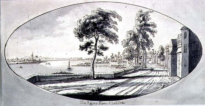 The River Thames from Chelsea