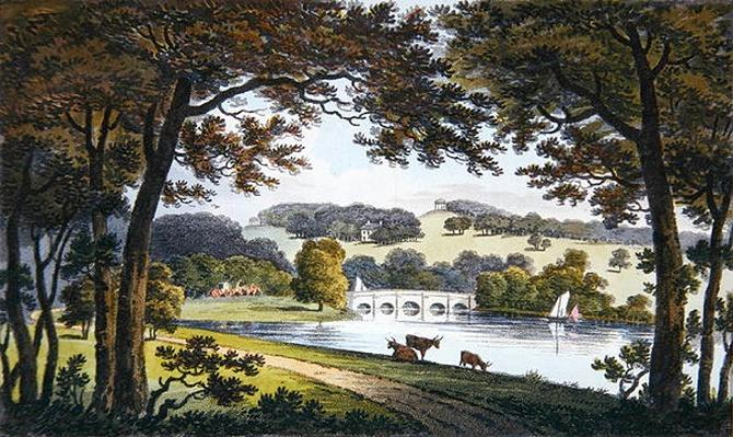 Water at Wentworth, Yorkshire, 1802