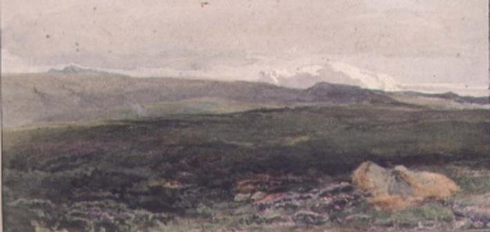 Hills near Loch Awe, Twilight