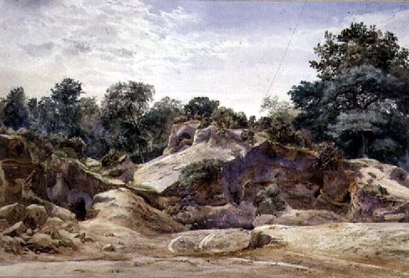 Gravel Pit at Hampstead