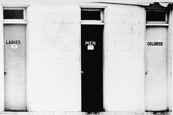 Segregated Restrooms | The 20th Century Since 1945: Civil Rights & the New Millennium