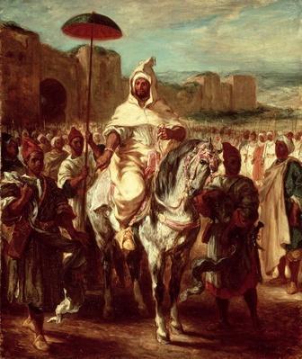 Abd Ar-Rahman, Sultan of Morocco, 1845