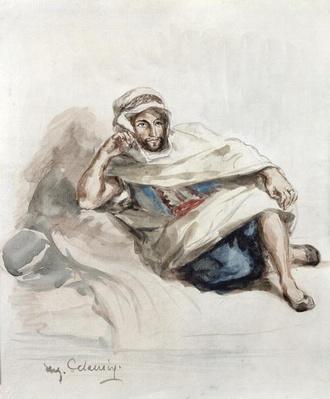 Seated Arab