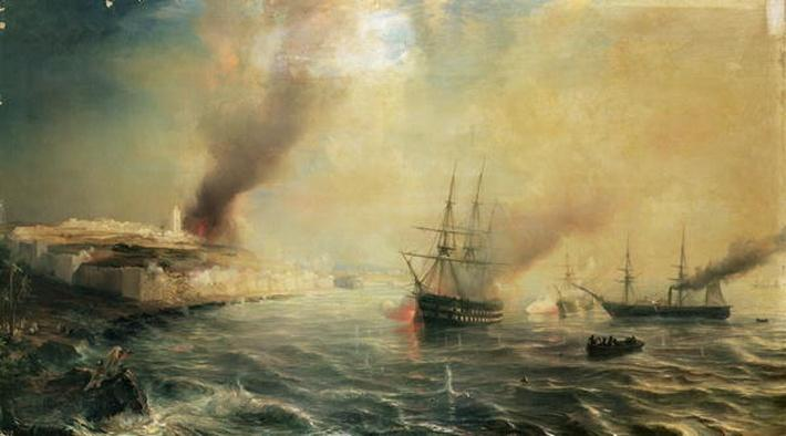 Bombardment of Sale, 26th November 1851, 1855