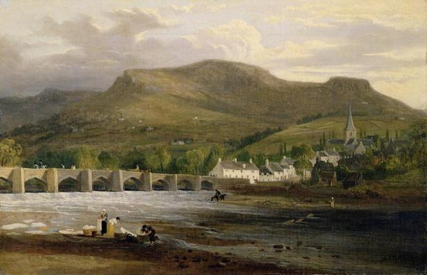 Crickhowell, Breconshire, c.1800