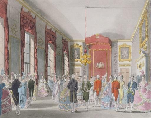 Drawing Room, St. James's, engraved by John Bluck