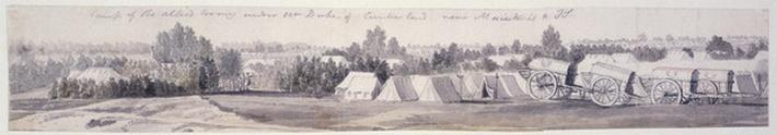 Encampment at Maestricht, 1747