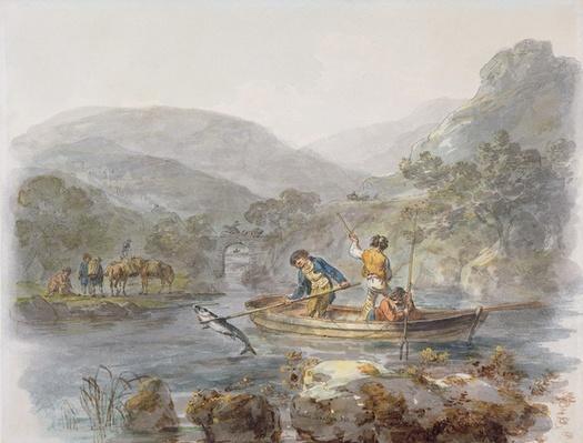 Salmon Spearing