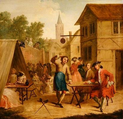 Hob Selling Beer at the Wake, c.1725