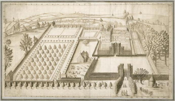 Lullingstone Castle, c.1670