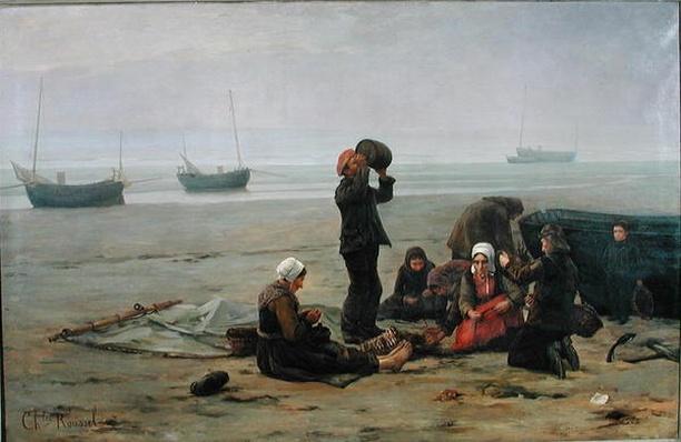 Waiting for the Fish, Berck-sur-Mer