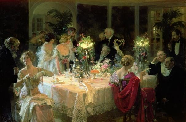 The End of Dinner, 1913
