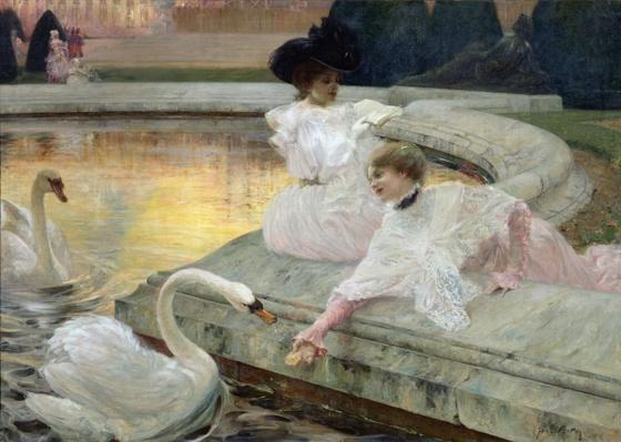 The Swans, 1900