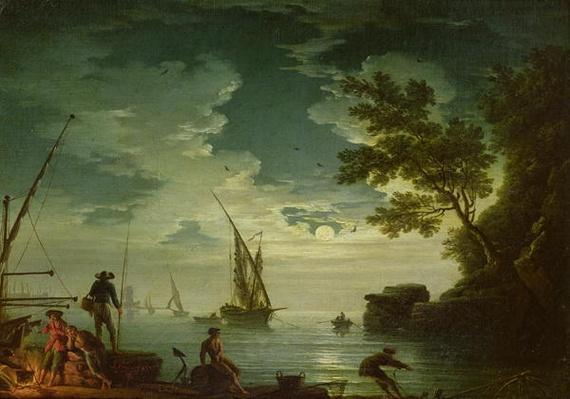 Seascape, Moonlight, 1772