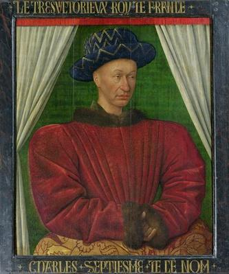 Portrait of Charles VII, c.1445-50