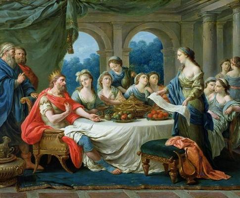 Esther and Ahasuerus, c.1775-80