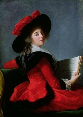 La Baronne de Crussol, 1785