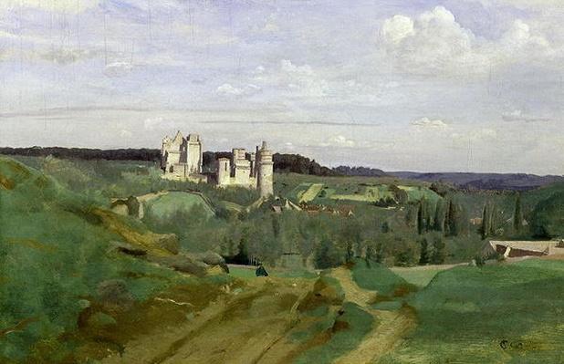 View of the Chateau de Pierrefonds, c.1840-45