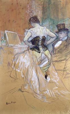 Woman at her Toilet, study for 'Elles', c.1896