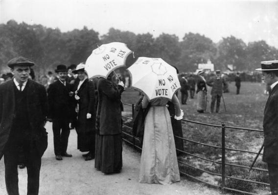 No Vote No Tax | Women's Suffrage | U.S. History