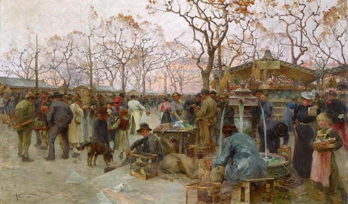 The Parisian Bird Market