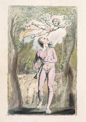 'Innocence', plate 1 from 'Songs of Innocence', 1789