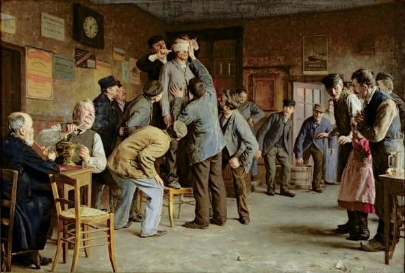 Le Bain de Pieds Inattendu, 1895