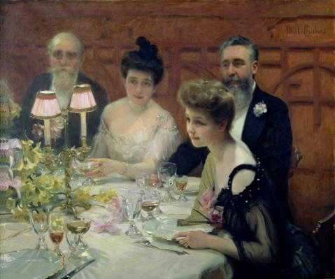 The Corner of the Table, 1904