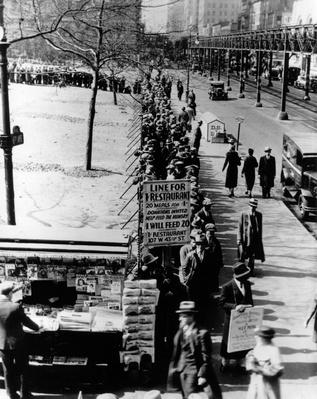 Bread Line | The Great Depression | U.S. History
