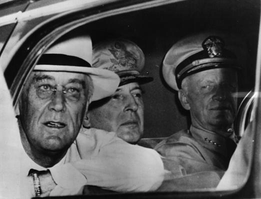 FDR on Military Tour | World War II