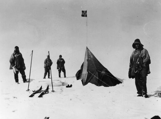 Amundsen's Tent | Famous Explorers