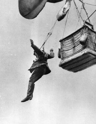 Early Parachute | The Evolution of Military Aviation