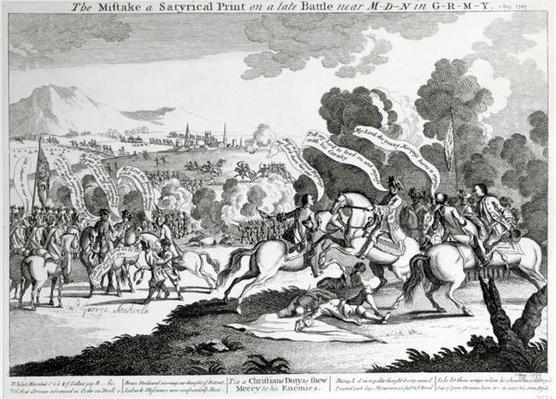 Battle of Minden, 1st August 1759