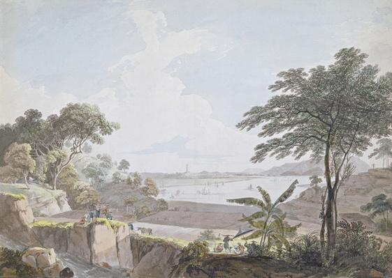 View of the Canton River, near Whampoa, China, c.1785-94