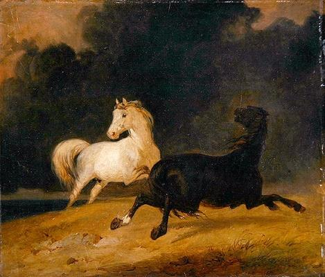Horses in a Thunderstorm, 1823