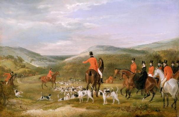 The Berkeley Hunt, 1842: The Meet