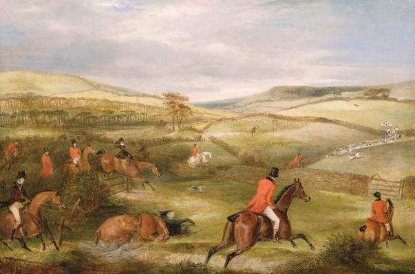 The Berkeley Hunt, 1842: The Chase